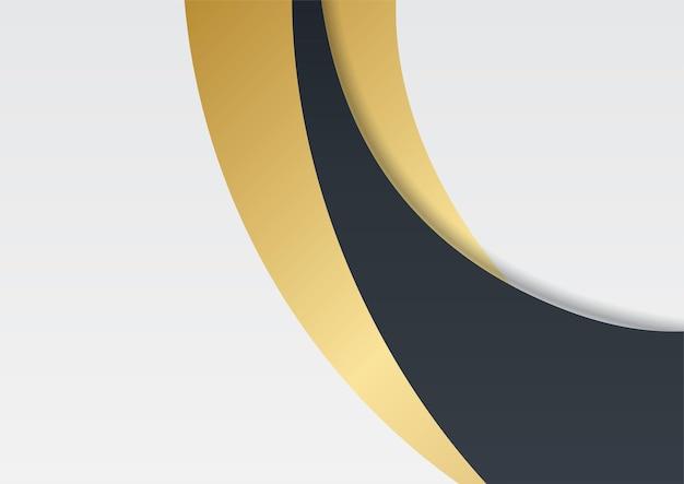 Sauberer moderner abstrakter hintergrund für präsentationsdesign. einfacher geometrischer folienhintergrund
