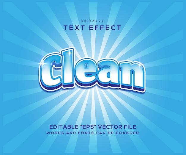 Sauberer texteffektstil