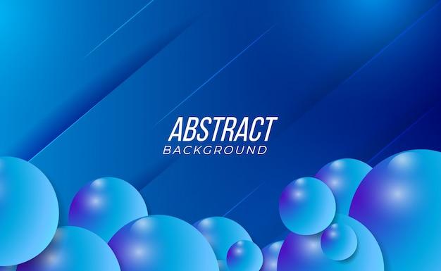 Sauberer und moderner bunter abstrakter gradientenhintergrund des blauen 3d für abstrakte partei-technologie-mode-innenraum