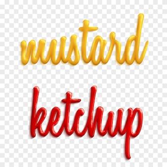 Sauce wörter illustration