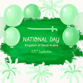 Saudi national day design