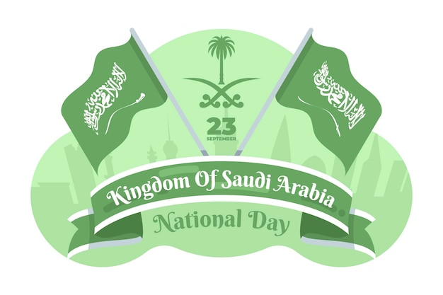 Saudi-nationalfeiertagsthema