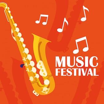 Saxophon klassisches instrument