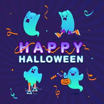 Scary geister halloween