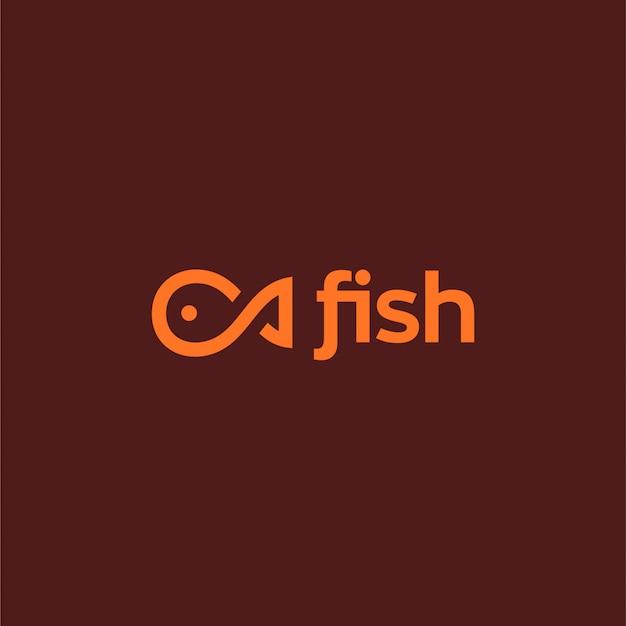 Schablone logo fische