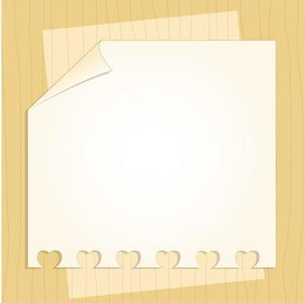 Schablonenrahmendesign für Grußkarte