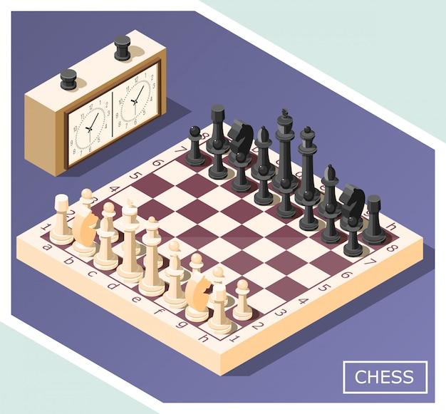 Schach isometrisch