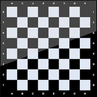 Schachbrettillustration
