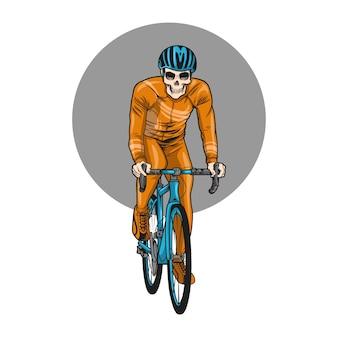 Schädel fahrrad