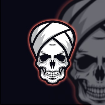 Schädel guru logo esport