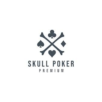 Schädel poker logo_03