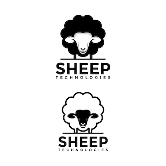 Schaf-logo-vorlage