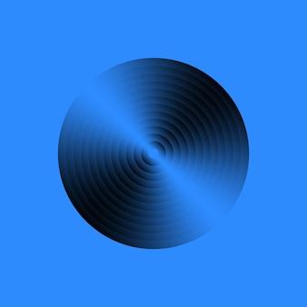Schallplatte aus vinyl. vintage grammophon-disc. vektor-illustration.
