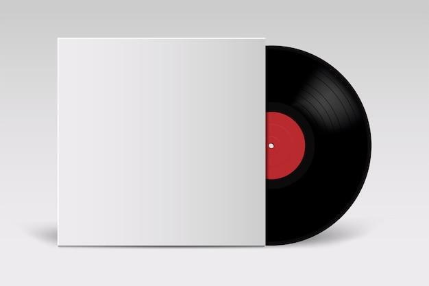Schallplatte mit cover