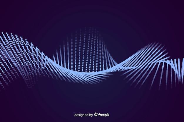 Schallwelle hintergrund