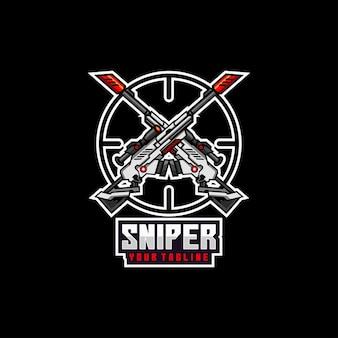 Scharfschützen-soldaten-logo