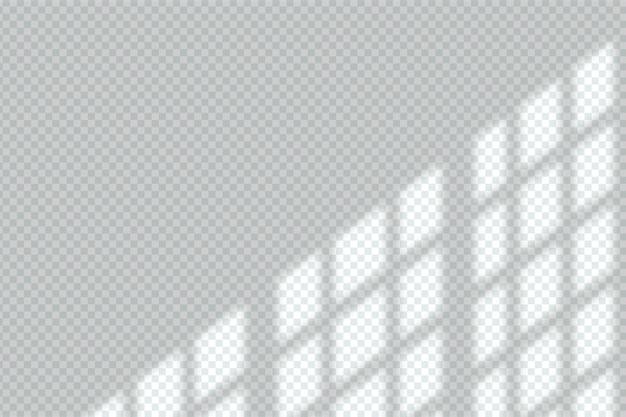 Schattenüberlagerungseffekt in transparentem design