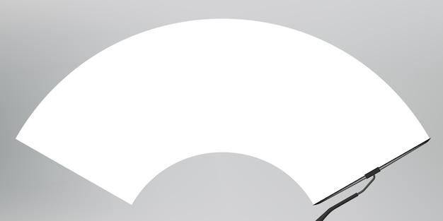 Scheibenwischerglas, scheibenwischer reinigt die windschutzscheibe