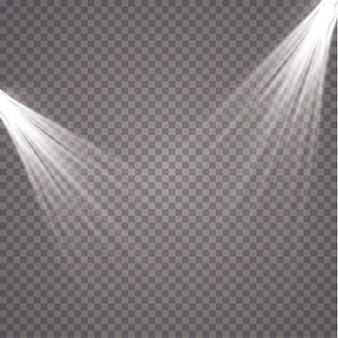 Scheinwerfer. leichter magischer effekt