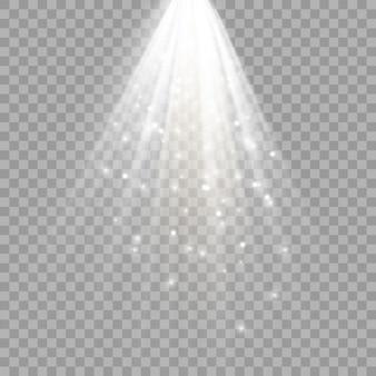 Scheinwerfer. szene. lichteffekte.