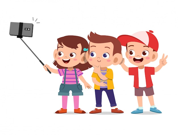 Scherzt selfie smartphone