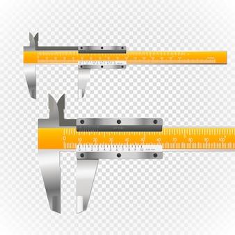 Schiebesattel-vektor-illustration