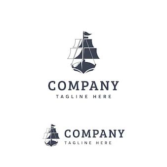 Schiff logo vorlage
