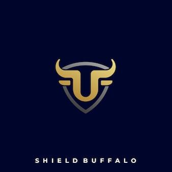 Schild buffalo illustration