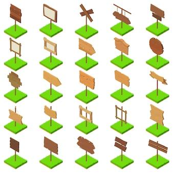 Schild-icon-set