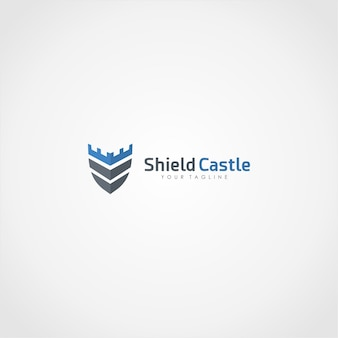 Schild schloss logo