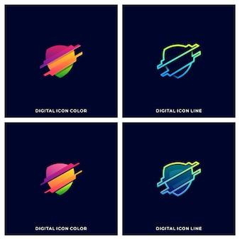Schild technologie illustration