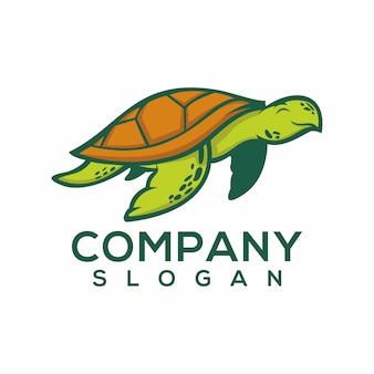 Schildkröte logo vetor