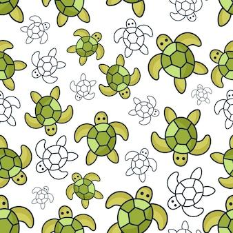 Schildkröte muster hintergrund