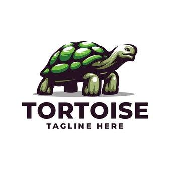 Schildkröten-esport-maskottchen-cartoon-logo-vektor-vorlage