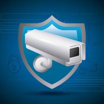 Schildschutz überwachungskamera privacy geheimnis