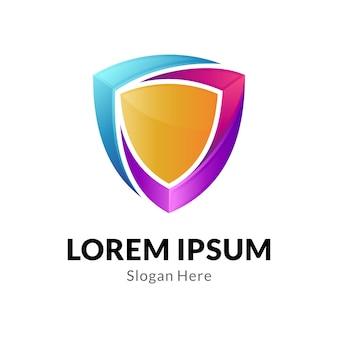 Schirm business logo vorlage