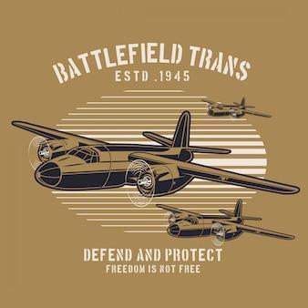 Schlachtflugzeug transport