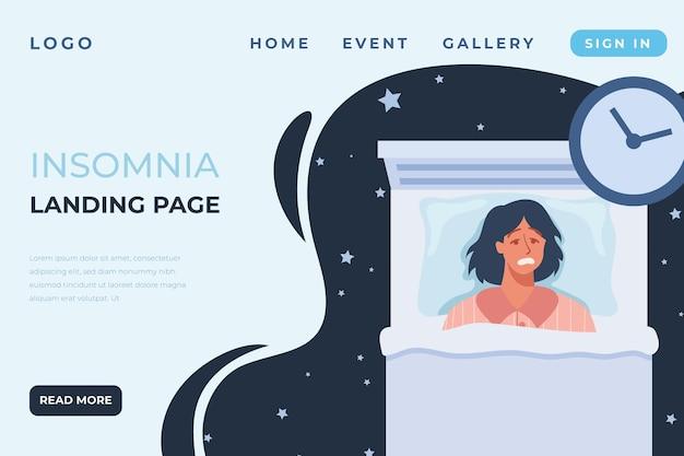 Schlaflosigkeit landing page