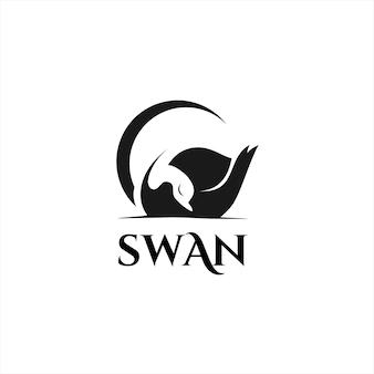 Schlafschwan-logo einfach