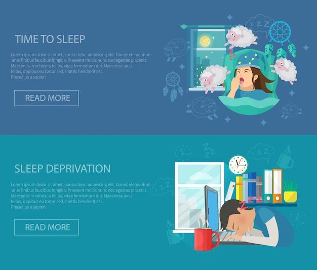 Schlafzeit-banner
