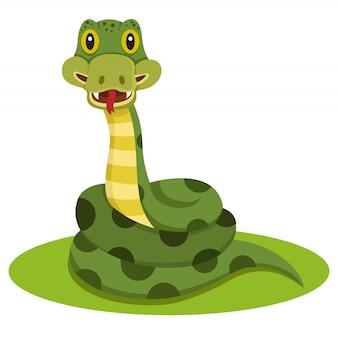 Schlangentier