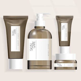 Schlauch- / flaschen- / glasverpackung für haarpflegeprodukte für das gesundheitswesen