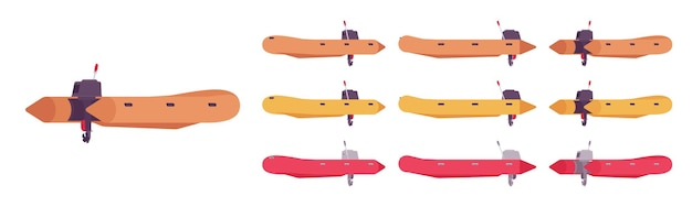 Schlauchboot-set