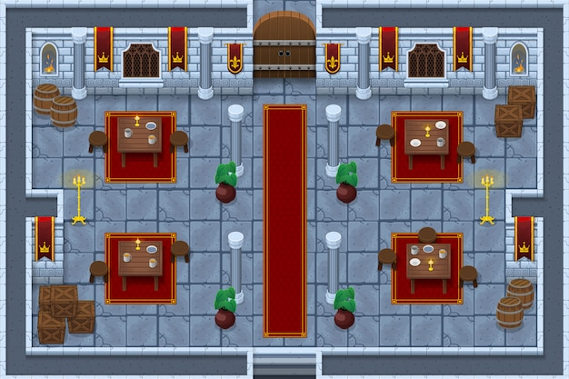 Schloss spiel tileset