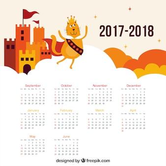 Schloss- und katzenschulkalender