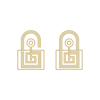 Schlüsselsymbol vektor-illustration design-vorlage