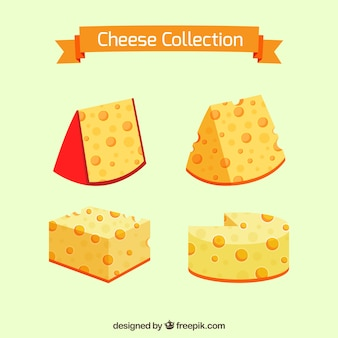 Schmackhafte käse nach geschmack