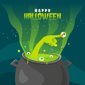 Schmelztiegel augen halloween grüße