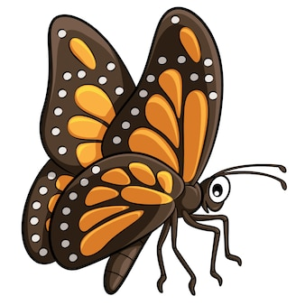 Schmetterlings-cartoon