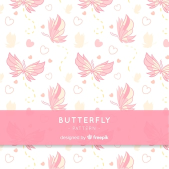 Schmetterlingsmuster hintergrund